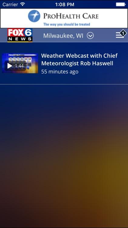 FOX6 Storm Center - Milwaukee Weather screenshot-4