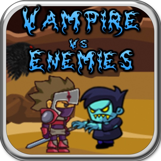 Vampire fight with Enemies