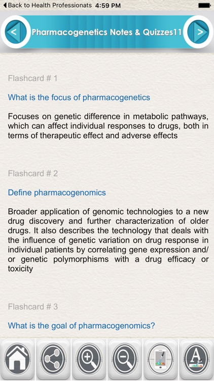 Introduction to Pharmacogenetics for Self Learning & Exam Preparation screenshot-0