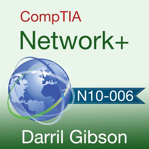 CompTIA Network+ N10-006 Exam Prep app logo