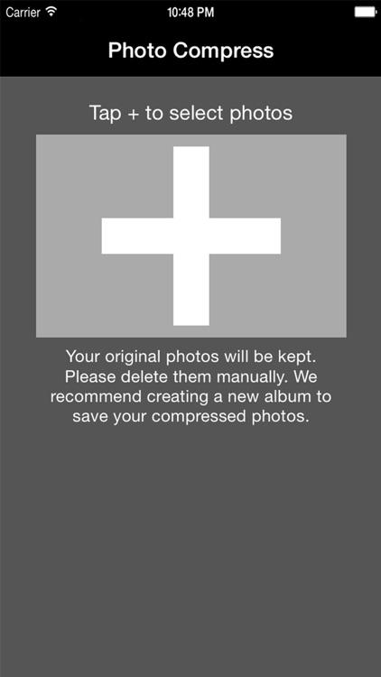 Photo Compress - Shrink Pics