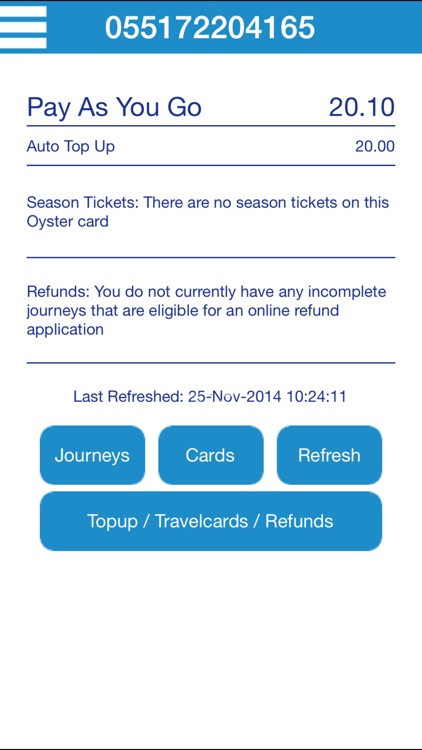 Oyster Oyster and Contactless