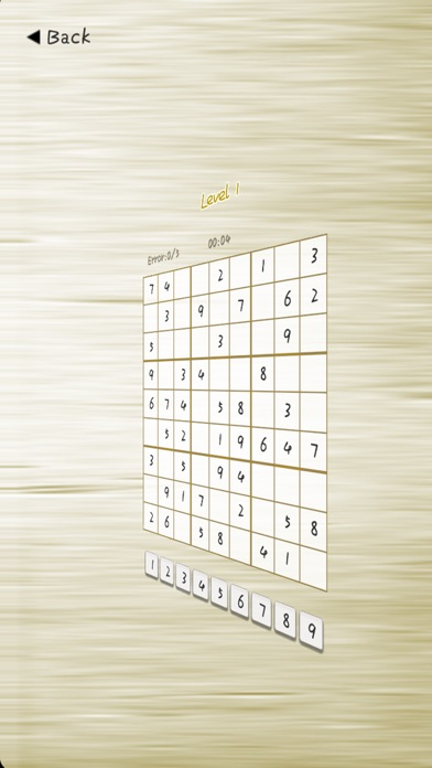 Sudoku Free - word puzzle game screenshot three
