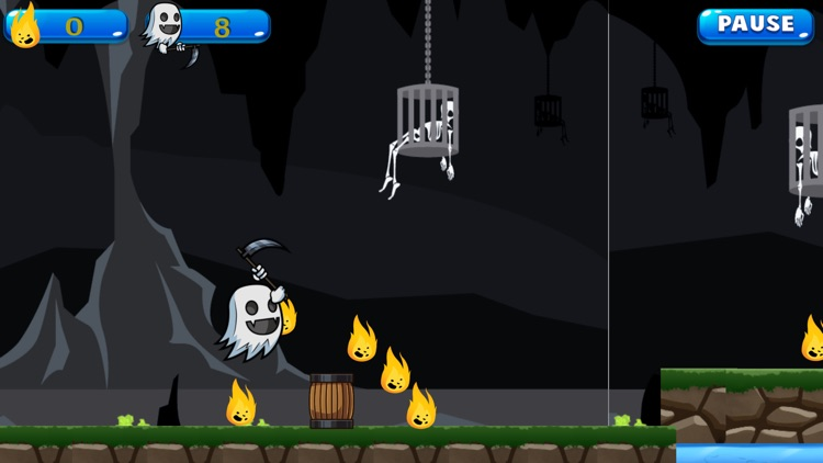 Flappy Ghost Free Game For Kids screenshot-2