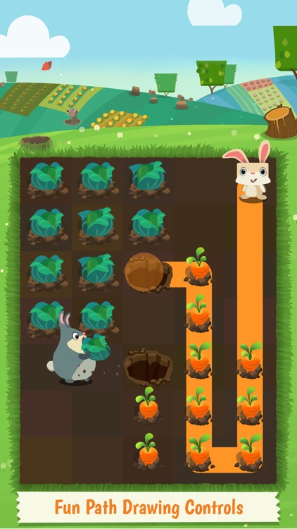 Patchmania - A Puzzle About Bunny Revenge! screenshot-0