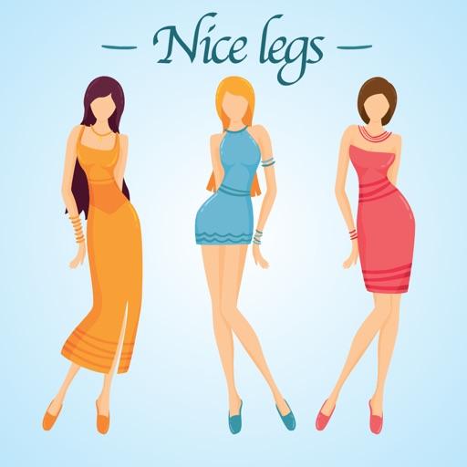 Nice legs photo editor iOS App