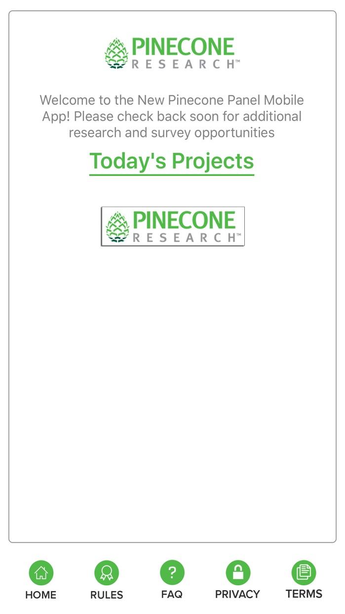 Pinecone Research Screenshot