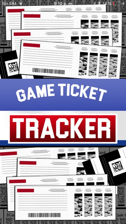 GAME TICKET TRACKER 2018