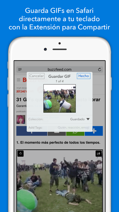 Screenshot for GIF Keyboard in Mexico App Store