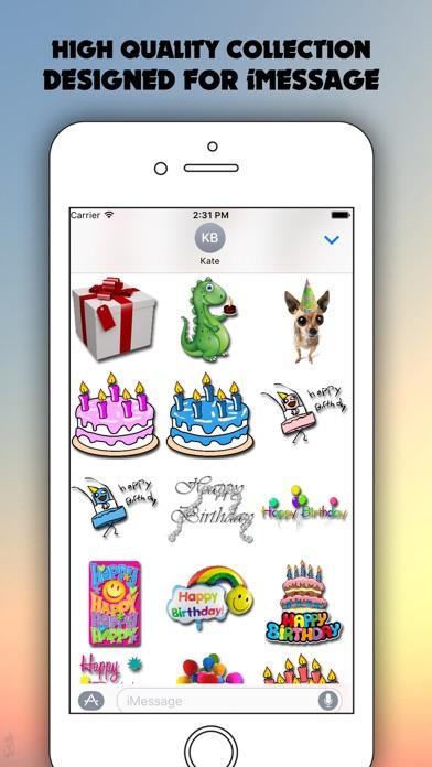 Birthday for iMessageのスクリーンショット4