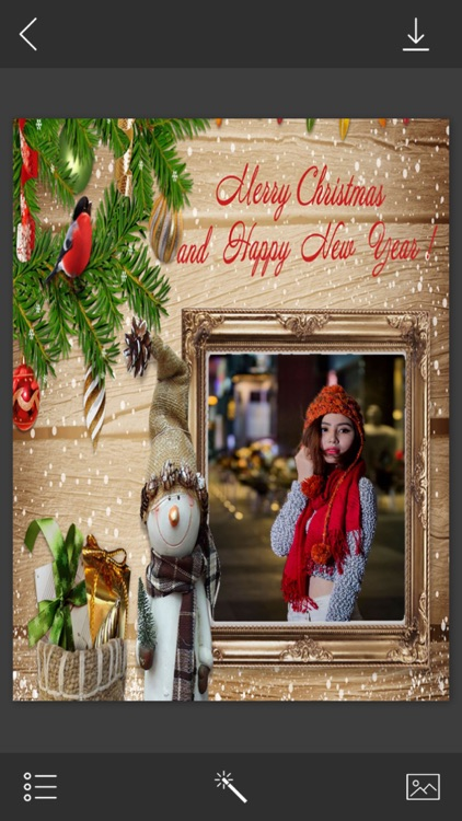 Christmas Santa Photo Frame - Frame Booth by Maniya Pratik