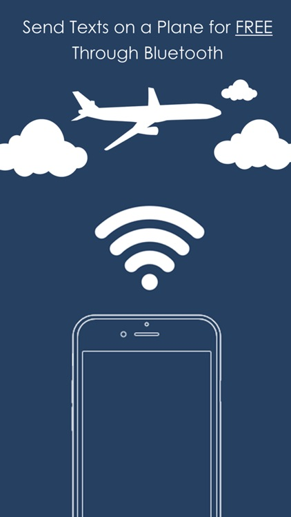 Text On A Plane - No Internet Required