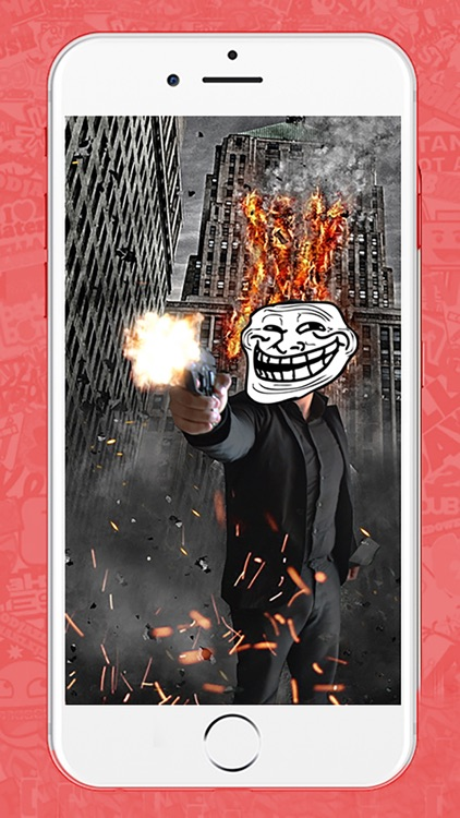 Troll Face Meme Creator Camera screenshot-3