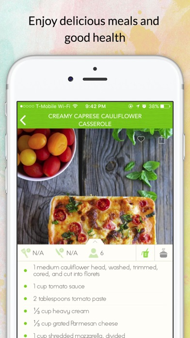 Eat Low Carb-Easy Diet Recipes to Help Lose Weight Screenshot