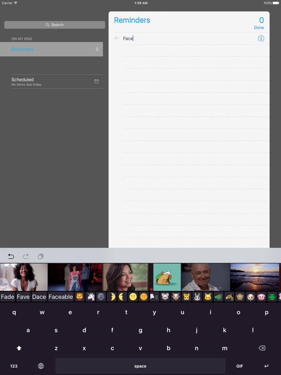 GIFit Keyboardのおすすめ画像1