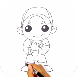 Learn to Draw Popular Characters Step by Step for iPad