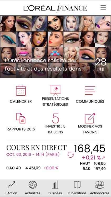 L'Oréal Finance screenshot-1