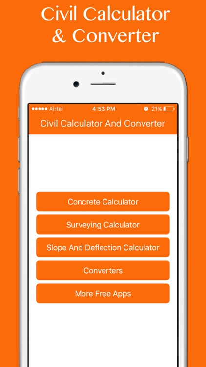 Civil Calculators & Converters