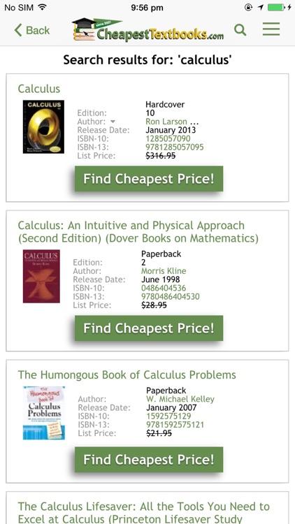 CheapestTextbooks.com screenshot-3