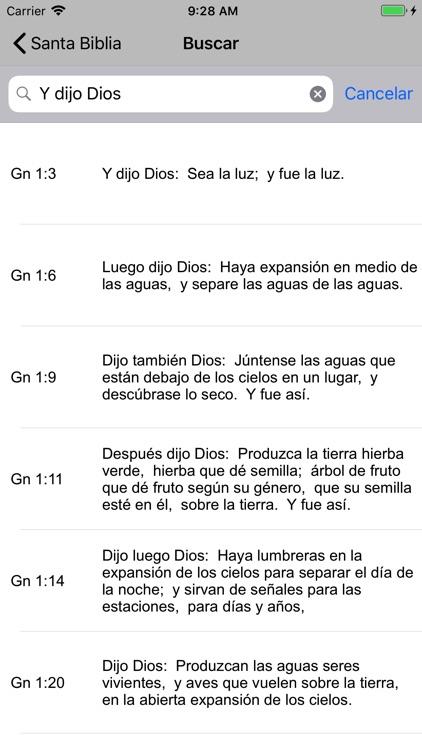 Santa Biblia Reina screenshot-3