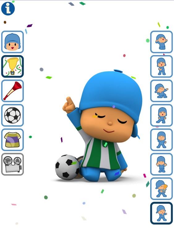 Talking Pocoyo Football HD Free