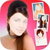 化妆的照片编辑器,发型及理发