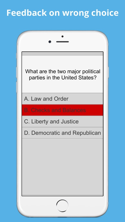 Adaptive U.S Citizenship Test