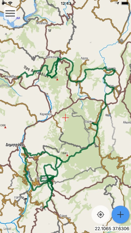 Menalon Trail topoguide