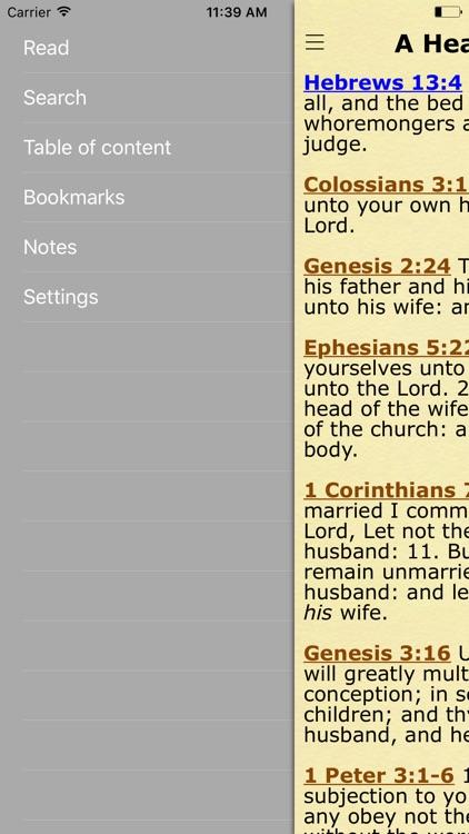 Bible Verses by Topics of the King James Version screenshot-4