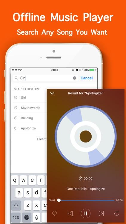 Offline Music Player Mp3 Cloud screenshot-4