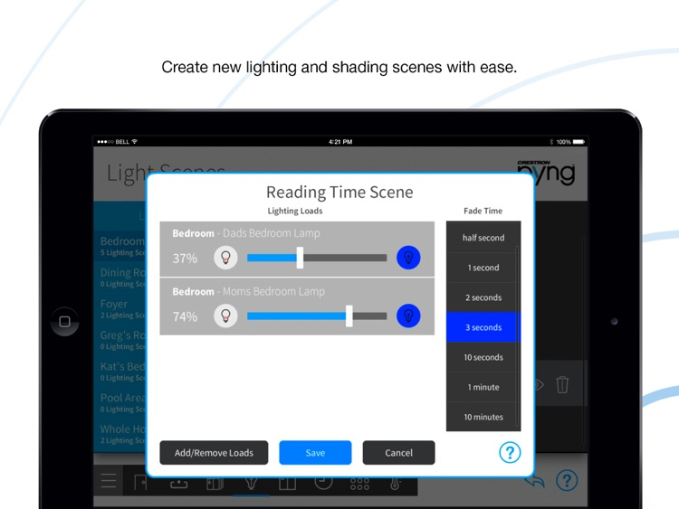Crestron Pyng for iPad