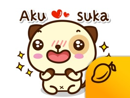 Pandadog (Bahasa Indonesia) - Mango Sticker