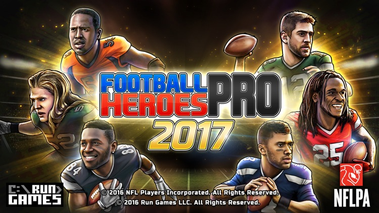 Football Heroes PRO 2017 - featuring NFL Players screenshot-4