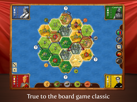 Catan Classic HD Screenshots
