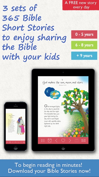 365 Bible Stories | Daily Short Stories for Kids