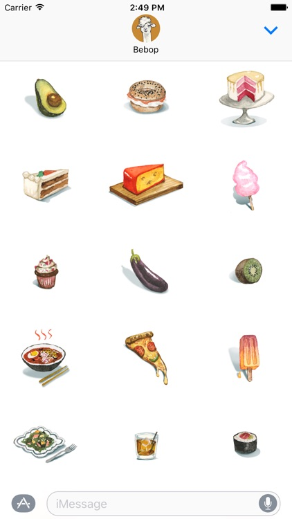 Munchums - Food stickers with feelings