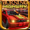 Free 3D Car Racing Games - Burning Highway ( 3D Car Shooting Games ) artwork