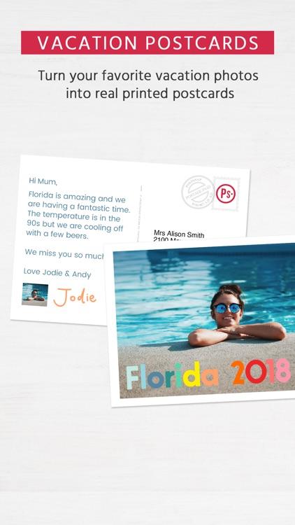 Postsnap: The Postcard App screenshot-0