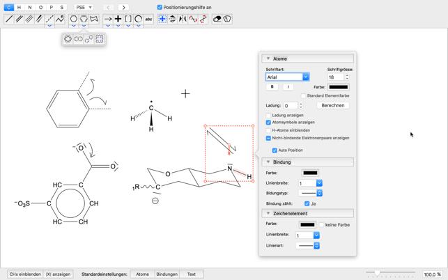 moleculesketch im mac app store. Black Bedroom Furniture Sets. Home Design Ideas