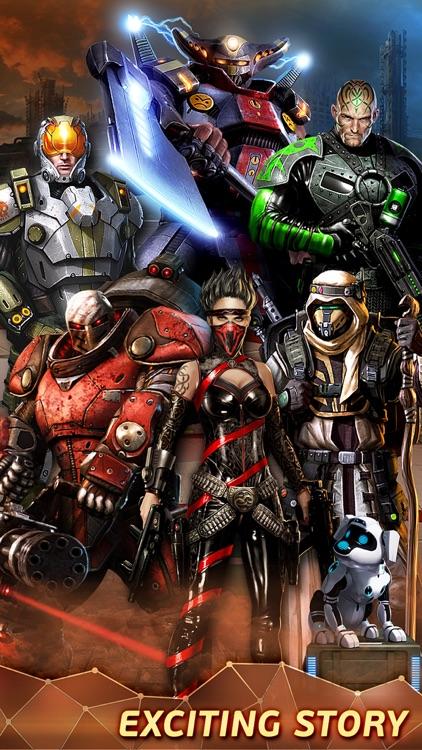 Evolution: Battle for Utopia – Sci-fi RPG in Space screenshot-4
