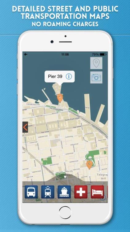 San Francisco Travel Guide and Offline City Map SF screenshot-3