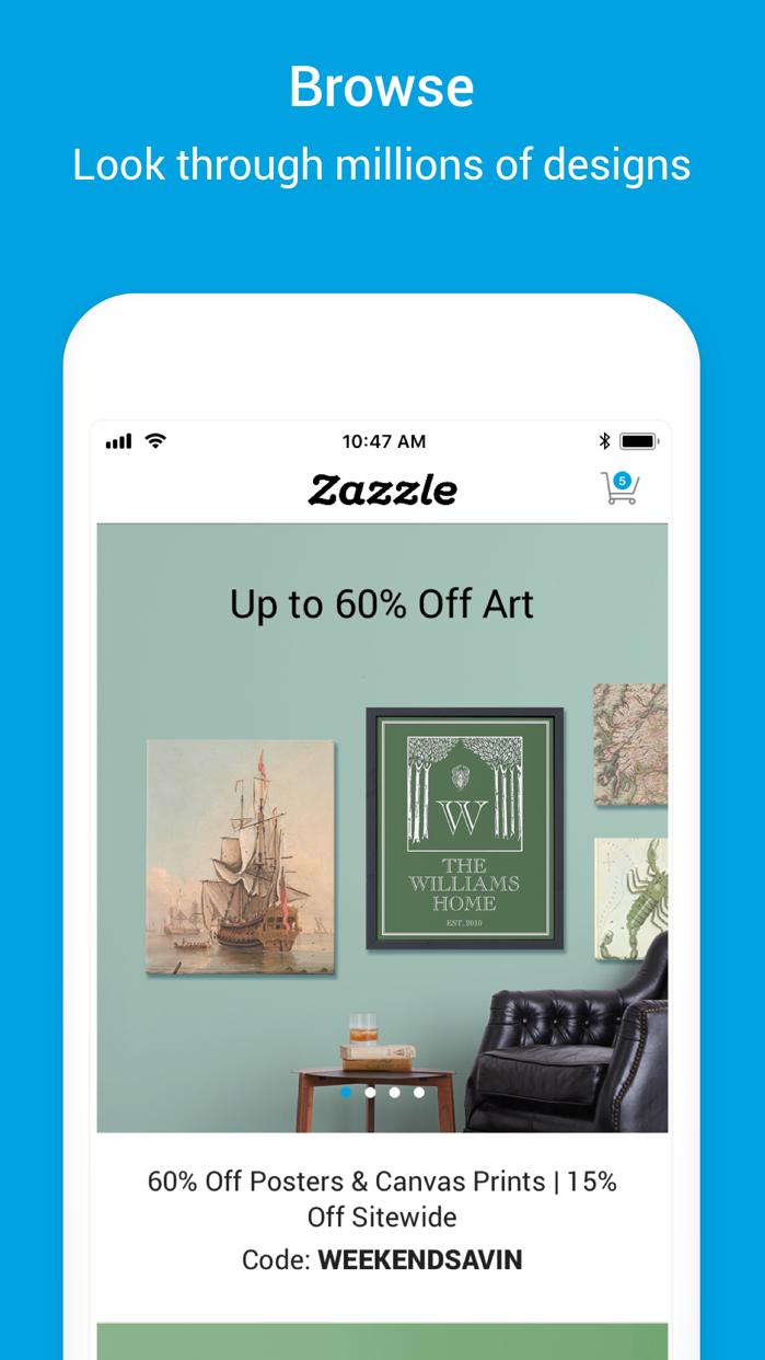 Zazzle - Create, Design & Shop Screenshot