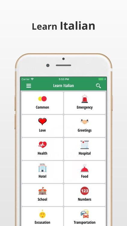 Learn Italian Language App