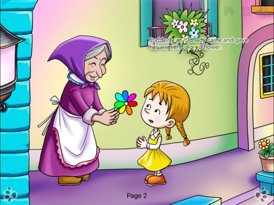 Seven Colored Flower iBigToy Скриншоты11