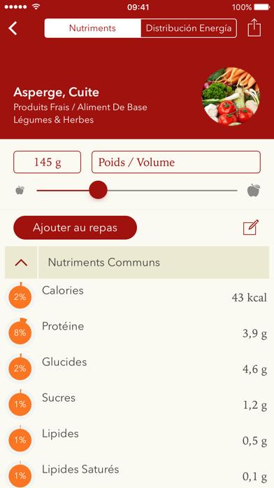 NutriCheck: Guide Nutriments