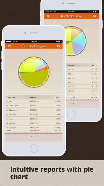 Debts Monitor Pro screenshot-4