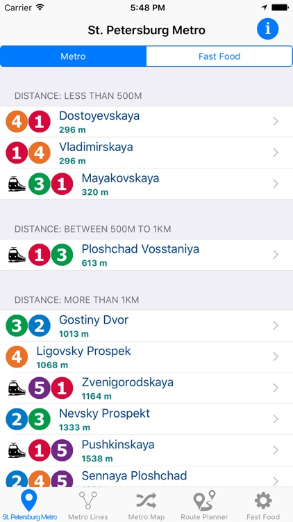 St.Petersburg Metro & Subway screenshot-0