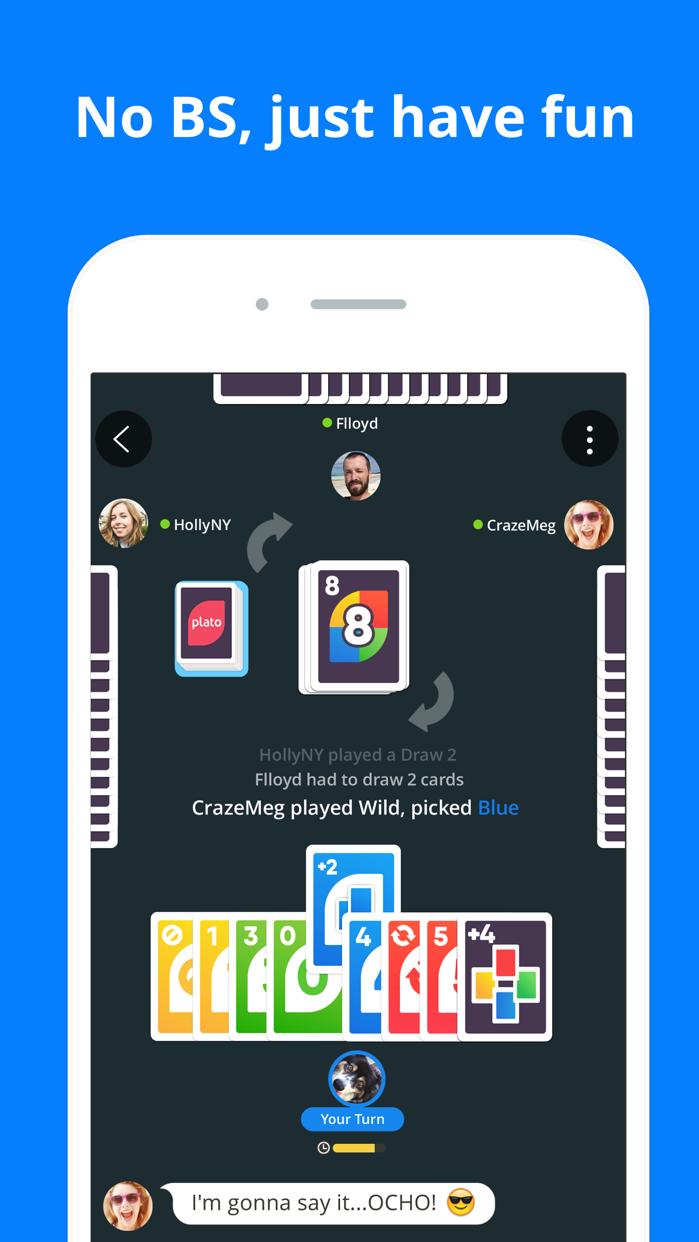 Plato: Games, Chat & Friends Screenshot