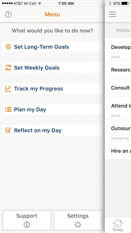Get More Done - Life Goals Productive GTD Planner screenshot-3