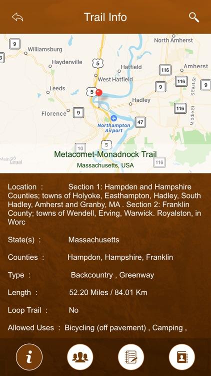 Massachusetts Trails screenshot-3